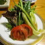 希文 - サービスのサラダ