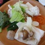しゃぶ葉 - バイキング(野菜)