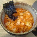 つけめん専門店 一歩 - 辛味つけ麺のスープ