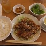 宝来飯店 - ランチセット1000円