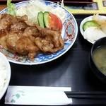 38303726 - 生姜焼き定食!(2015,05/19)