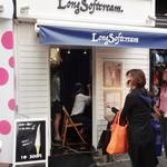 Long Softcream - 4月にリニューアルオープンして、現在では「 Long Softcrem」の ロゴになっています。お店のスタッフの Tシャツ もお店の Facebook も「Long Softcrem」に変っています。