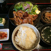 にく道楽 - 料理写真:ミックスホルモン焼定食