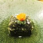 38306476 - よもぎの胡麻豆腐