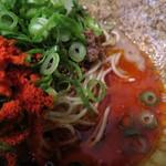 38306559 - 坦坦タレが辛いの好きには魅力的過ぎる色具合!