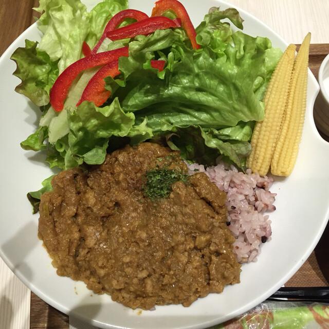 MARUFUJI CAFE - キーマカレー丼