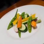 トラットリア・フランチェスカ - 地野菜いろいろバーニャカウダ