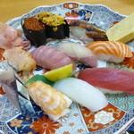 新港食堂 - 上握り寿司