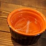 Teppan 我流 - カツオ出汁のスープ