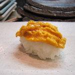 松寿司 - 淡路産ウニ