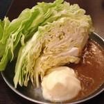四文屋 - キャベツ(100円)