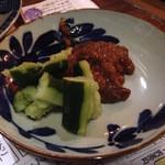 空き屋 - 食べる醤油&キュウリ(450円)