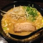 麺屋 封 - ワンコインランチ 味噌とんこつラーメン 540円(税込)