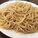 麺ダイニング 福 - つけ麺は特製太麺。つるんとした喉越しが良い。