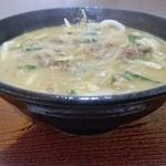 めん処 清水庵 - 料理写真:カレーうどん550円