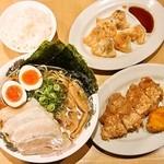 麺家 えびす - 満足えびす定食