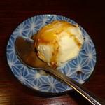 おすし家のいらぶ - 食後のアイス