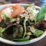 ラッツダイニング - ランチミニサラダはシーザーサラダ