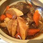 38321694 - ランチ⑨牛スネとアキレス土鍋煮