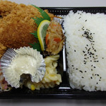 あつみや - ミックスフライ弁当(2015/2)