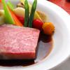 ビストロ せり家 - 料理写真:最上級A5クラス「松阪牛」のローストビーフ (要予約)