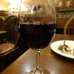 ワイン食堂タパタパ - グラスワイン赤