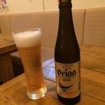 natsutoumitotaiyoutonamioto - オリオンビール