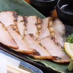 豚トロ炙り網焼