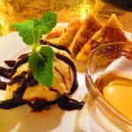 ウずマキ - フレンチトースト バニラアイス添