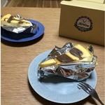 さらさ焼菓子工房 - コーヒーチーズケーキ 500