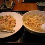 Karakuen - ワンタン麺セット