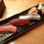 つきぢ神楽寿司 - 好みで4貫;姿は中々良いです(^^) @2015/05/18