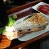 珈琲自家焙煎の店 ふじだな - 料理写真:ケーキセットでは「ベリーチーズのタルトケーキ」を選びました