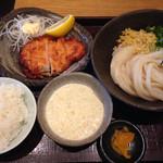 38334136 - チキン南蛮定食(ぶっかけ) ¥900