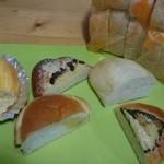 ラパン アン - 購入したパンを半分カットしました。by arumona