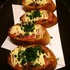 八蔵 - 料理写真:ネギとろガーリックトースト  (かなりオススメです)