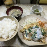 キッチンピッコロ - ・「ピッコロ風 かつ丼(\680)」