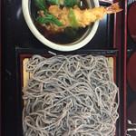 浪花 ふじよし - つけ麺、海老天