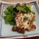 喰らい亭 - チキンマヨ焼きのアップ