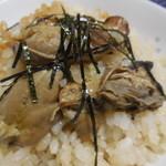 おみやげ街道 - 結構プリッとした牡蠣