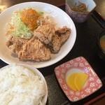 たまりば - 料理写真:からあげ定食(650円+消費税)