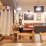 ビステッカ - ≪'15/05/23撮影≫店内のテーブル席の風景です