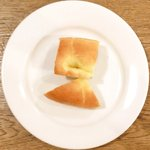 ビステッカ - ≪'15/05/23撮影≫ハーブ三元豚のローストポークと名物ラザニアのセット 1000円 のパン