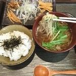 天雷軒 九段下 - 拉麺定食