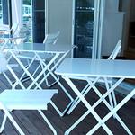 Ken Roku - オープンテラス席も完備。(テラスのみ喫煙可)