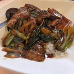 38342539 - 豚の角煮丼セット(1,700円)