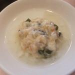 38342540 - 豆腐と海老すり身の蒸し料理