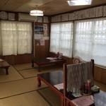 のりば食堂 - 座敷(4テーブル)