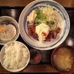 神屋流 博多道場 - チキン南蛮定食850円