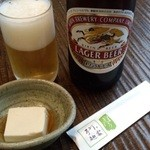 38349987 - 中瓶ビール+お通し